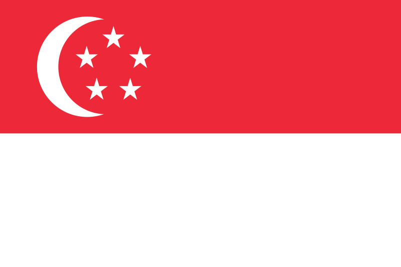 Flag of the City-State of Singapore